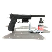 Pack de Noël tactique CZ P09 ASG calibre 4.5 mm
