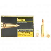 20 munitions Sako Twinhead II 275 grains .338 Win Mag