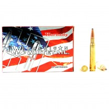 20 munitions Hornady American Whitetail, cal .30-06