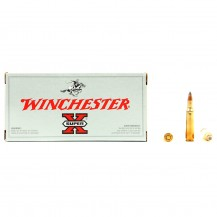 20 munitions Winchester Super X, calibre .222 Rem.