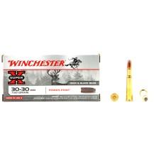 20 munitions Winchester Super X, 150 gr cal. 30-30