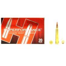 20 munitions Hornady Superformance 180 gr .300 Win Mag