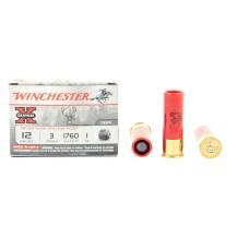 5 cartouches Winchester Super X Slug, calibre 12/76
