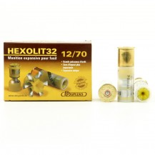 5 munitions DDupleks Hexolit 32, calibre 12/70