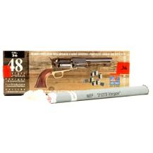 Doses de poudre noire précomprimées calibre .36