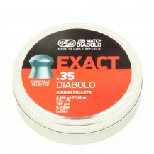 100 plombs JSB Exact Diabolo, calibre 9 mm