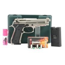 Pistolet Kimar 92 chromé pack électrique discount