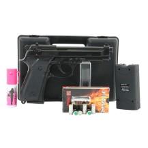 Pistolet Bruni 92 noir, pack électrique discount
