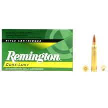 20 munitions Remington Core-Lokt, calibre .300 Win Mag