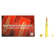 20 munitions Hornady Superformance, cal.270 Win