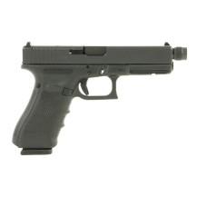 Pistolet Glock 17 Gen4 MOS fileté, calibre 9x19 mm