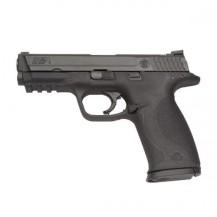 Pistolet S&W M&P9 DAO noir, calibre 9x19