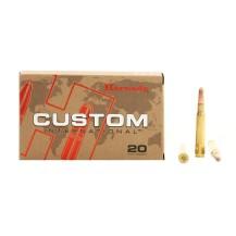 20 munitions Hornady Custom .30-06 220 gr Interlock
