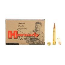 20 munitions Hornady Custom 8x57 JRS 170 gr SST