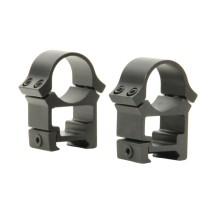 Colliers hauts Fuzyon Optics pour rail picatinny