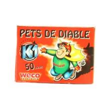 50 Pets de diable Weco Clac doigt