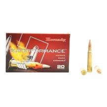20 munitions Hornady .338 Win Mag SST 225 gr