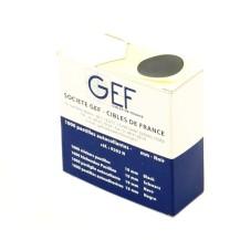 Une boîte de 1000 pastilles autocollantes Ø 24 mm