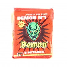 Sachet de 8 pétards Demon n°1 Ardi