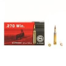20 munitions Geco Express cal. .270 Win. 130 gr