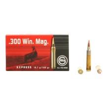 20 munitions Geco Express cal. .300 WM 165 gr