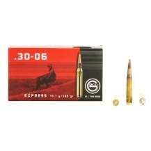 20 munitions Geco Express cal. .30-06 165 grains
