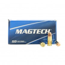 50 munitions Magtech calibre 9x19mm 147 grains FMJ