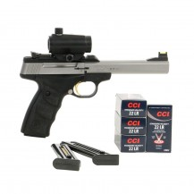 Pack Reflex Browning Buck Mark Inox UDX .22 LR
