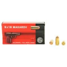 50 munitions Geco, calibre 9x18 Makarov