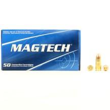 50 Munitions Magtech, calibre 9x19 mm