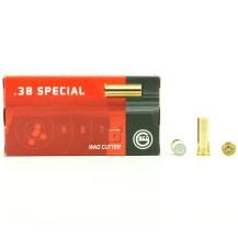50 Munitions Wad Cutter Geco, calibre 38 Special