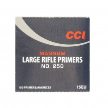 100 amorces CCI Large Rifle Magnum