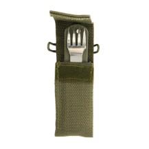 Couteau de camping avec couverts Bivouac