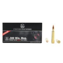 20 munitions RWS Target Elite Plus 200gr .300 Win Mag