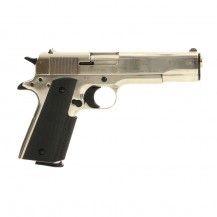 Pistolet à blanc Umarex Colt 1911 A1 Polished Chrome 9mm PAK