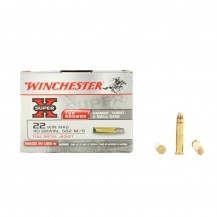 150 munitions Winchester Super-X FMJ, calibre .22 WMR