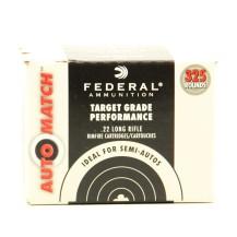 325 munitions Federal Automatch, calibre .22 LR