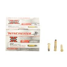 150 munitions Winchester Super X JHP .22 WMR