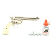 Pack découverte Umarex Colt SAA .45 nickelé, 4.5 mm BB