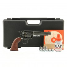 Pack luxe Umarex Colt SAA .45 finition antique, 4.5 mm BB