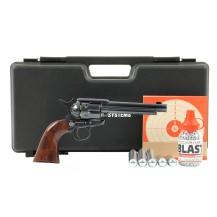 Pack luxe Umarex Colt SAA .45 noir, 4.5 mm BB