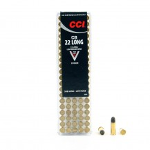 100 Munitions CCI Sub-sonic CB .22 Long