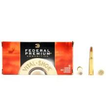 20 munitions Federal Premium Vital Shok .30-30 Win