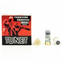 25 Munitions Tunet Commando Shooting Slug 12/67
