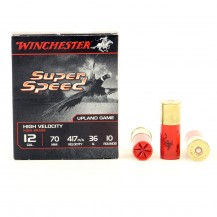 10 munitions Winchester Super Speed 36 g, calibre 12/70