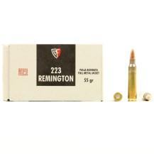 50 Munitions Fiocchi 55 Grs calibre 223 Remington