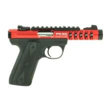 Pistolet Ruger 22/45 Lite fileté calibre .22 LR, couleur au choix