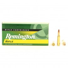 20 munitions Remington Core Lokt PSP 150 Gr, .300 Savage