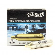 10 cartouches Walther Special Pure Co2 12g
