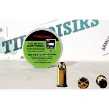 100 munitions à blanc Umarex, calibre 22 Long K